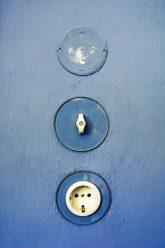 Lichtschalter und Steckdose im Meisterhaus Kandinsky-Klee