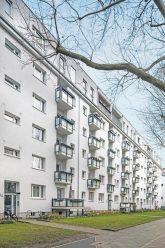 Ehemalige Gagfah-Häuser in der Gleditschstraße