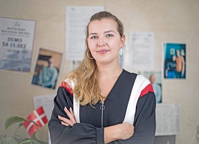 Studentin Elena Poeschl