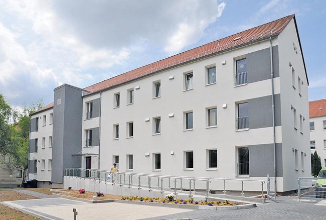 Niedrige Miete trotz schadstoffarmer Sanierung: Seniorenwohnheim der Benndorfer Wohnungsbaugesellschaft