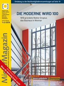 Titelseite MieterMagazin 1+2/2019