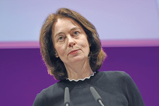 Justizministerin Katarina Barley