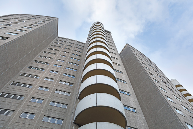 Wohngebäude in der Gropiusstadt