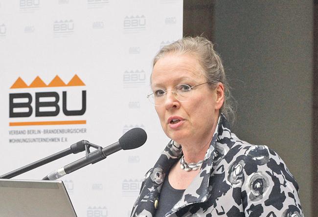 BBU-Vorstand Maren Kern