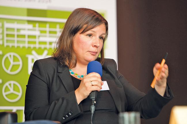 Grünen-Fraktions-Chefin Antje Kapek