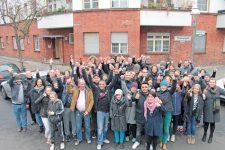 Bewohner des Hauses Thiemannstraße, Ecke Böhmische Straße
