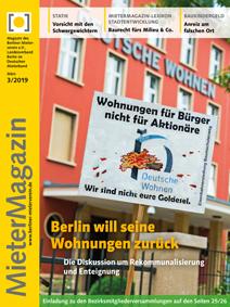 Titelseite MieterMagazin 3-2019