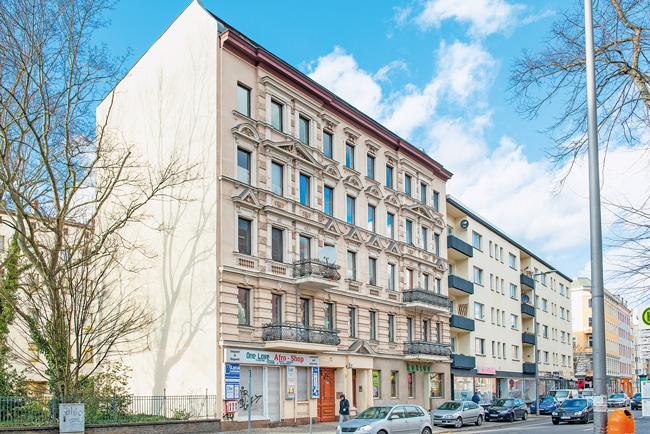 Mietshäuser in der Neuendorfer Straße