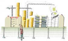 Illustration zu Geld und Wohnen