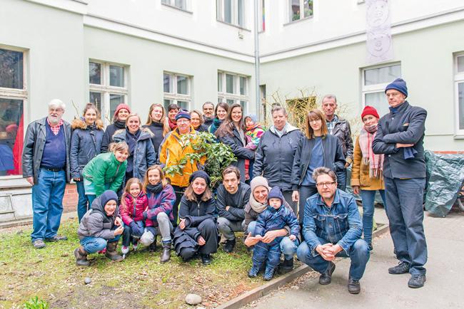 Mietergemeinschaft in der Gleimstraße 56