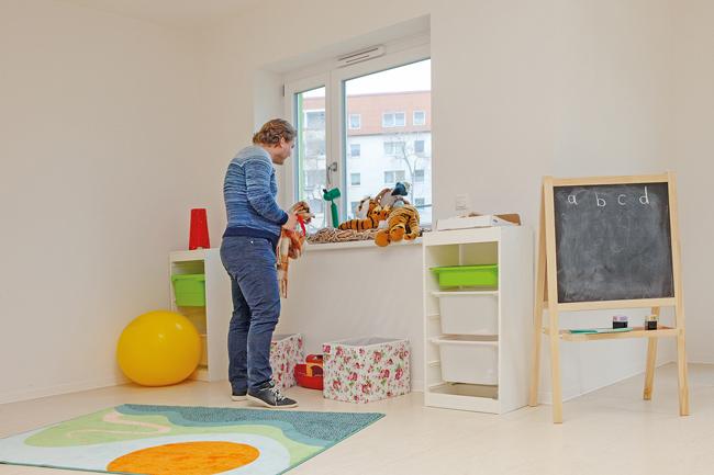 Zimmer mit Spielecke