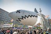 Europa und Deutschland demonstrieren – die Berliner am zahlreichsten