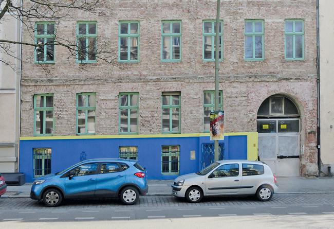 Fassade der Perleberger Straße 50