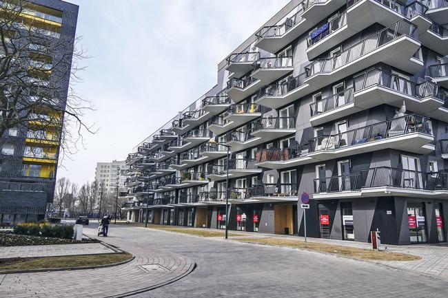 Gentrifiziertes Quartier Praga in Warschau