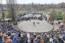 Veranstaltung im Mauerpark