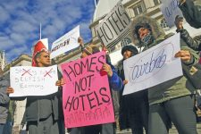 Proteste genen Hotels und Airbnb in New York