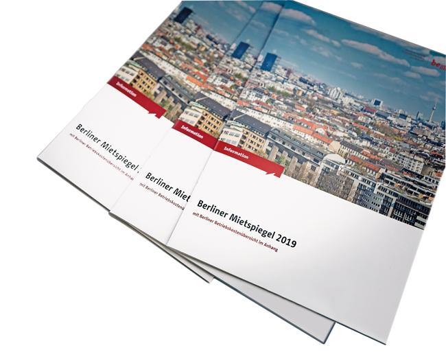 Broschüren: Berliner Mietspiegel 2019