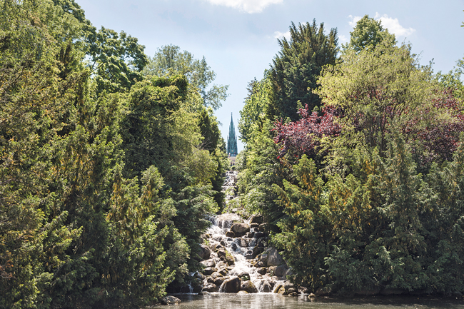 Wasserfall am Kreuzberg