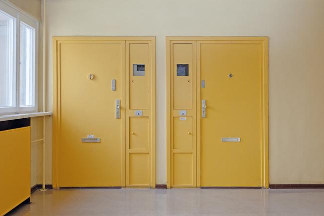 Eingangsdtür mit seitlicher ,Brötchenklappe'