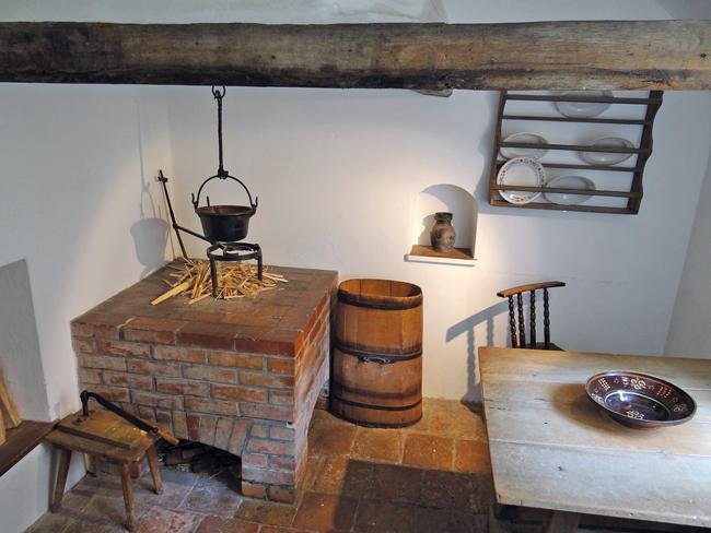 HistorischesZimmer in der Fuggerei in Augsburg