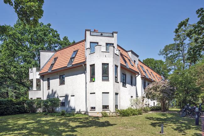 Wohnhaus in der Leo-Baeck-Straße