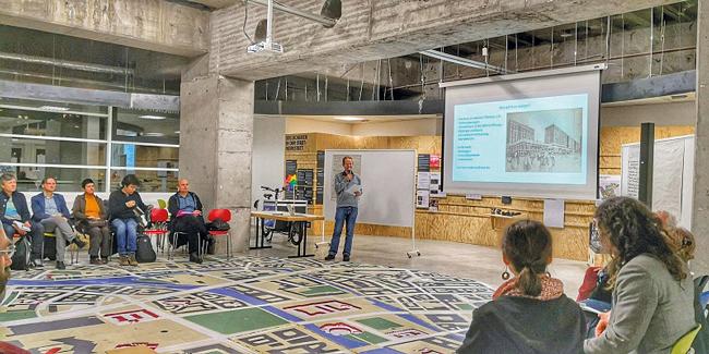 Diskussionsveranstaltung in der Stadtwerkstatt