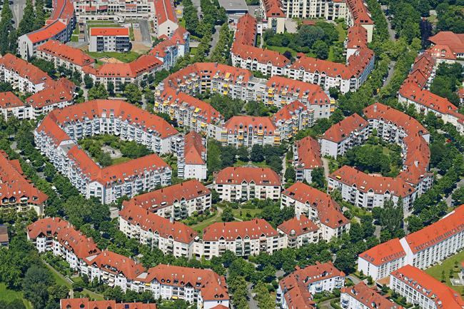 Mehrfamilienhäuser in Augsburg