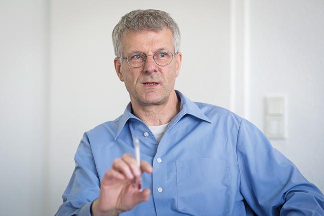 BMV-Vorsitzender Dr. Rainer Tietzsch