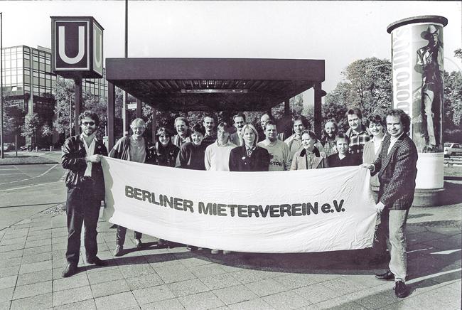 Das BMV-Team im Jahr 1986