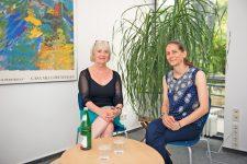 Die BMV-Mediatorinnen Vita und Fenske