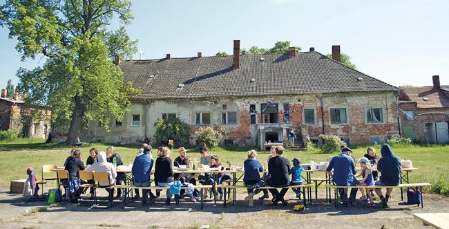 Bewohner des Hofs Prädikow