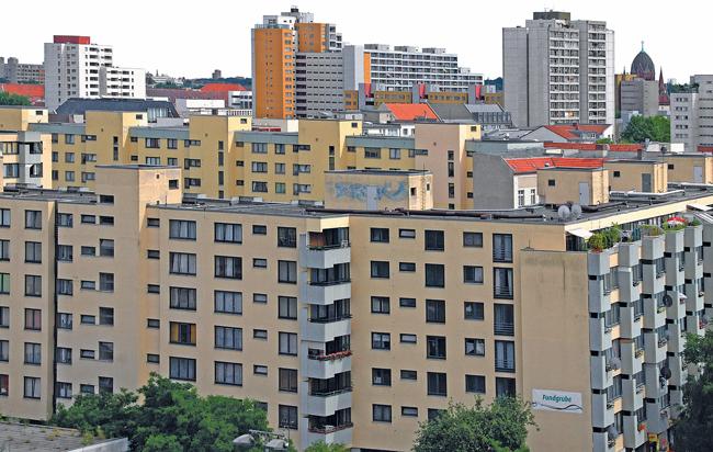 Sozialer Wohnungsbau in Kreuzberg