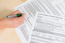 Formulare für den Wohngeldantrag