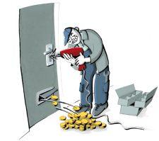 Illustration zum Abzocken von Schlüsseldiensten