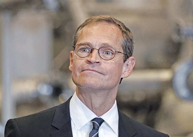 Berlins Regierender Michael Müller