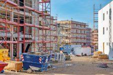Neubau-Baustelle in Alt-Glienicke