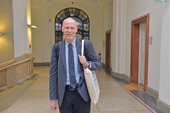 Volker Rastätter, Geschäftsführer des Münchener Mietervereins