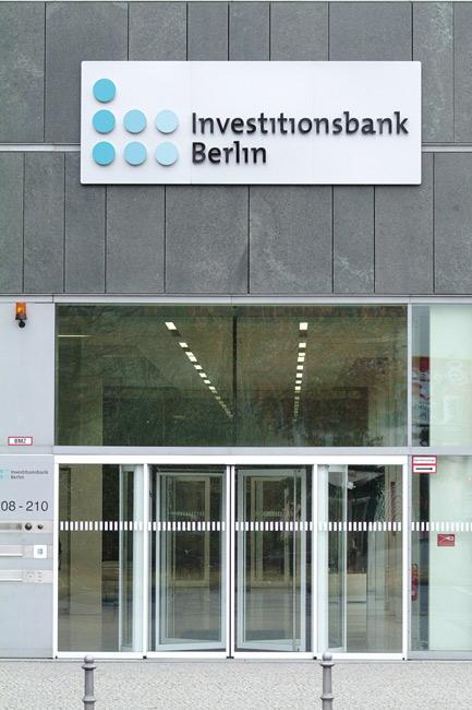 Eingangsbereich der IBB