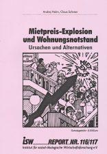 Titelseite der Publikation ,Mietpreis-Explosion und Wohnungsnotstand'