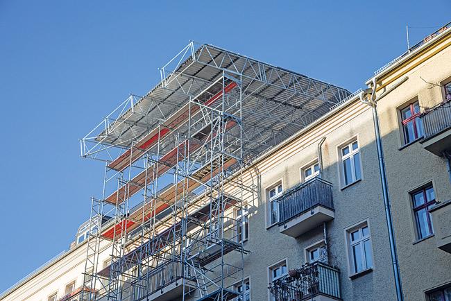 Dachgeschossausbau in Friedrichshain