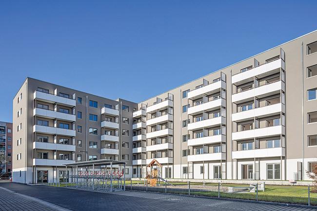 Neubau an der Hellersdorfer Schkeuditzer Straße