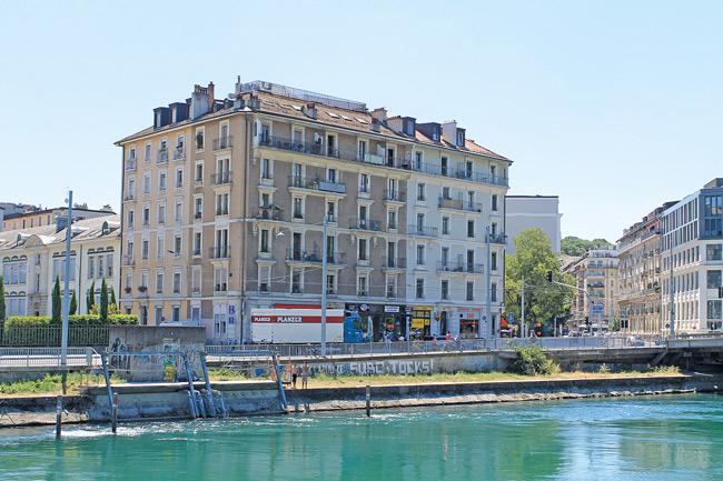 Wohnhaus in Genf