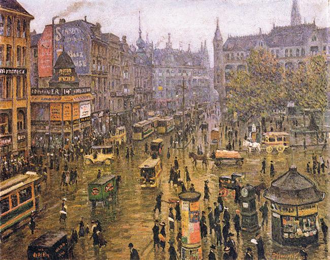 Der Spittelmarkt 1912