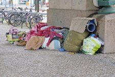 Obdachlosenlager