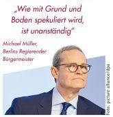 Michael Müller, Berlins Regierender Bürgermeister