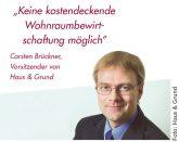 Carsten Brückner, Vorsitzender von Haus & Grund