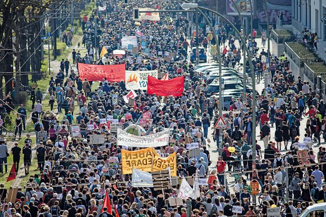 Demonstration am 3. Oktober 2019