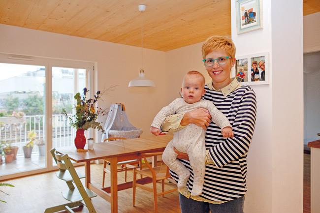 Norma Torrens und Sohn Bruno