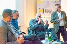 Posiumsteilnehmer beim Forum Wohnungspolitik