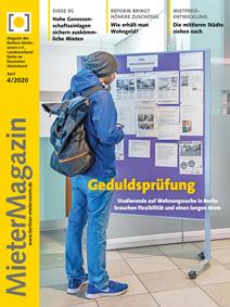 Tittelseite MieterMagazin 4-2020